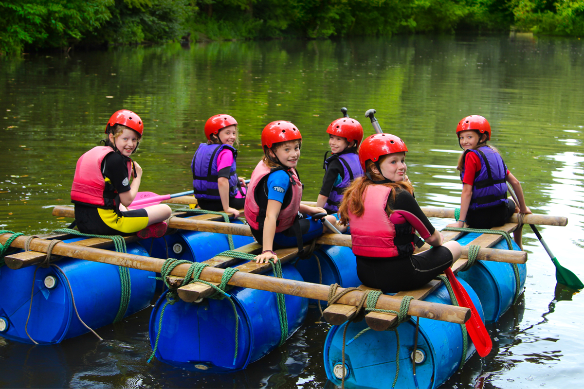 Girls rafting at the chateau.jpg