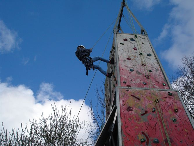 person at the top of climbing wall 14-04-2012.jpg